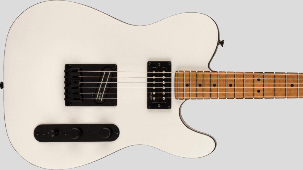 Squier by Fender Telecaster RH Contemporary Pearl White 0371225523 con custodia Fender in omaggio