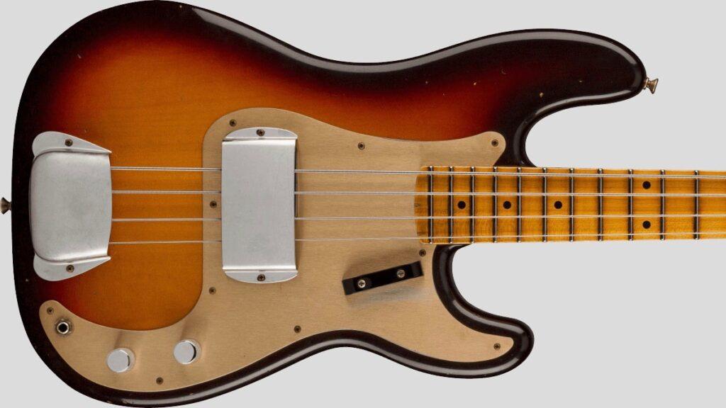 Fender Custom Shop 1959 Precision Bass Time Machine Chocolate 3-Color Sunburst Journeyman Relic 9231012901