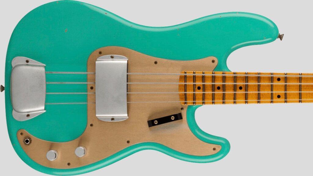 Fender Custom Shop 1959 Precision Bass Time Machine Faded Aged Seafoam Green Journeyman Relic 9231012901
