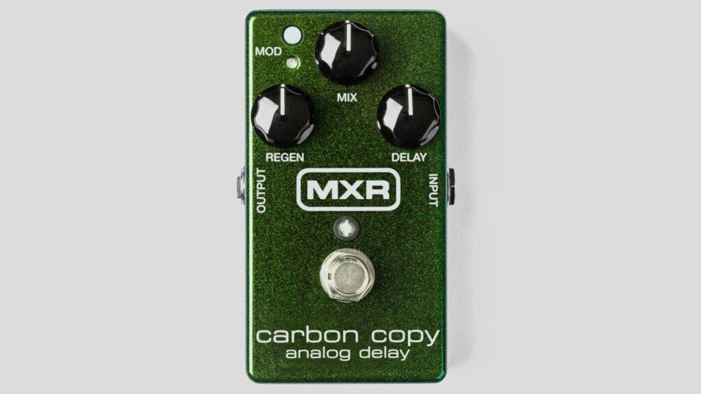 MXR Carbon Copy Analog Delay M169 Made in Usa (spedizione gratuita) Jim Dunlop Electronics