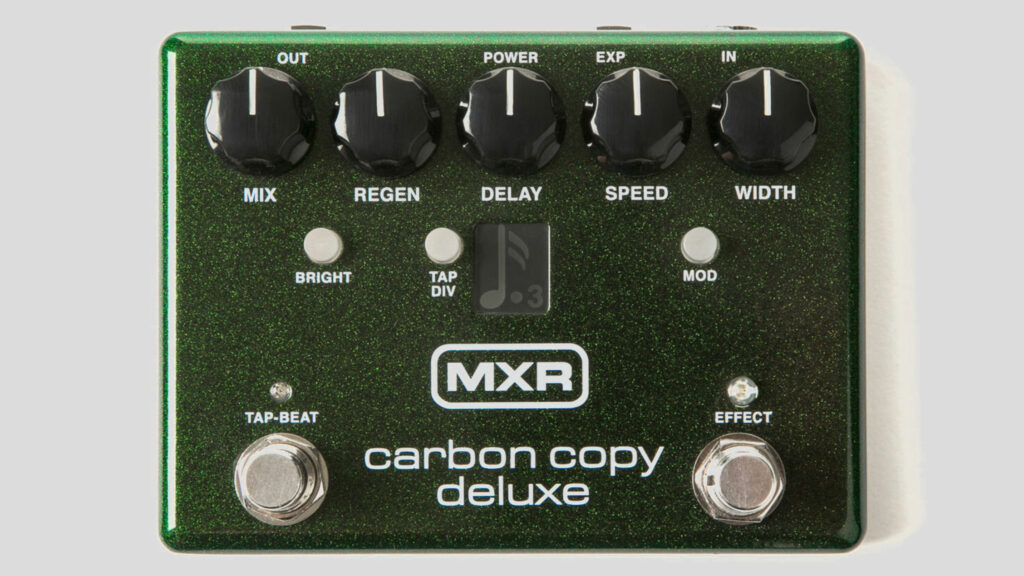 MXR Carbon Copy Deluxe Analog Delay M292 Made in Usa (spedizione gratuita) Jim Dunlop Electronics