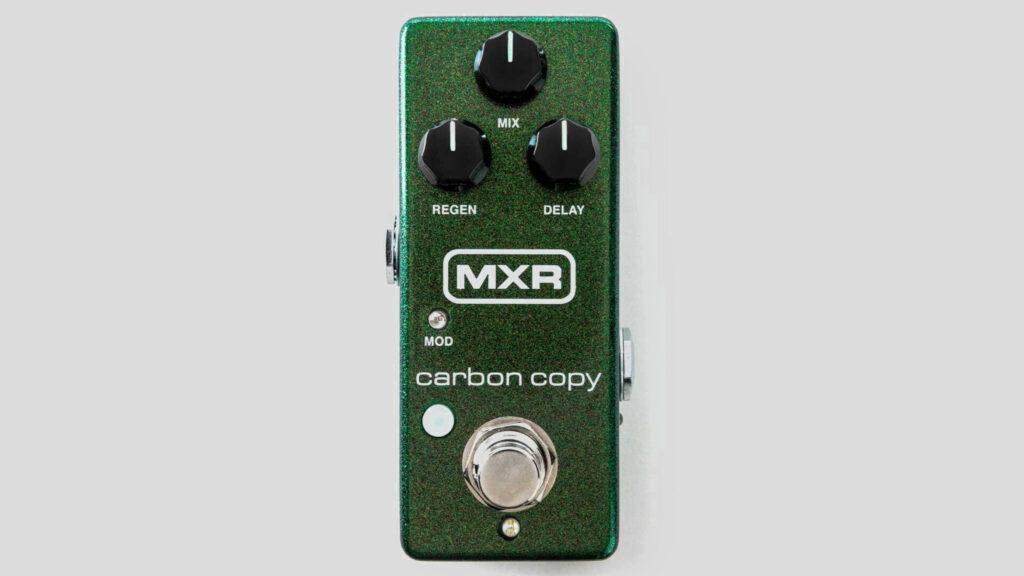 MXR Carbon Copy Mini Analog Delay M299 Made in Usa (spedizione gratuita) Jim Dunlop Electronics