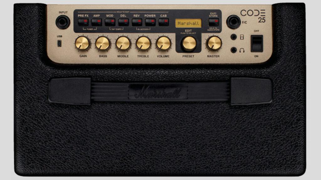 """Marshall CODE25 amplificatore digitale 25 watt 1x10"""" (spedizione gratuita)"""