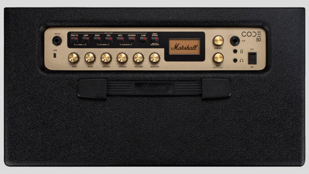 """Marshall CODE50 amplificatore digitale 50 watt 1x12"""" (spedizione gratuita)"""