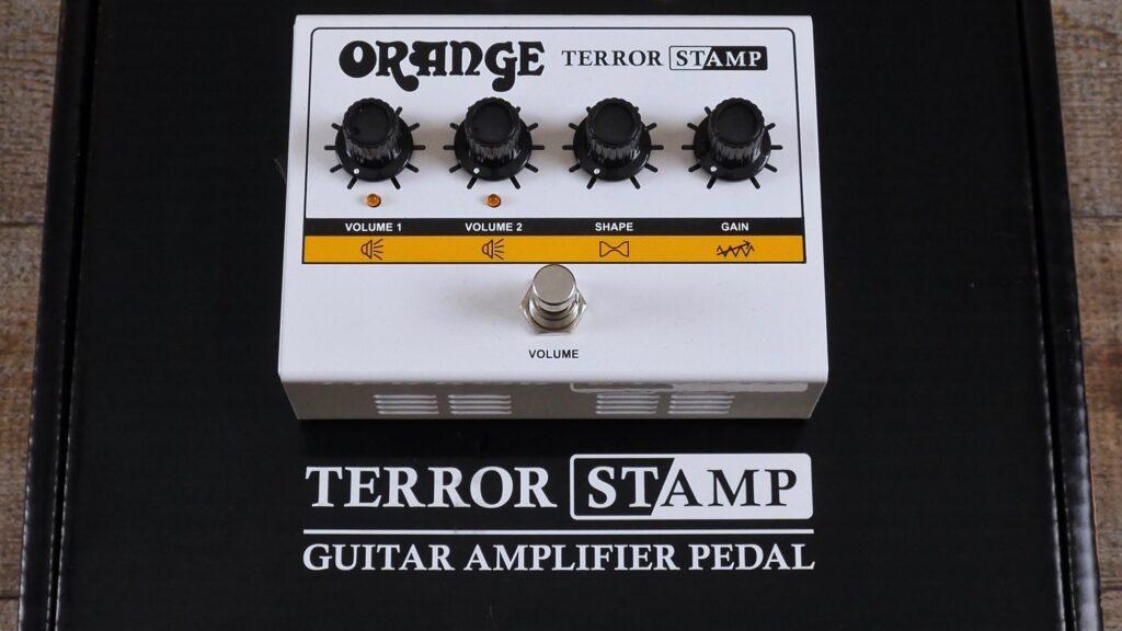 Orange Terror Stamp Guitar Amplifier Pedal 20 watt 8/16 ohm Valve Preamp