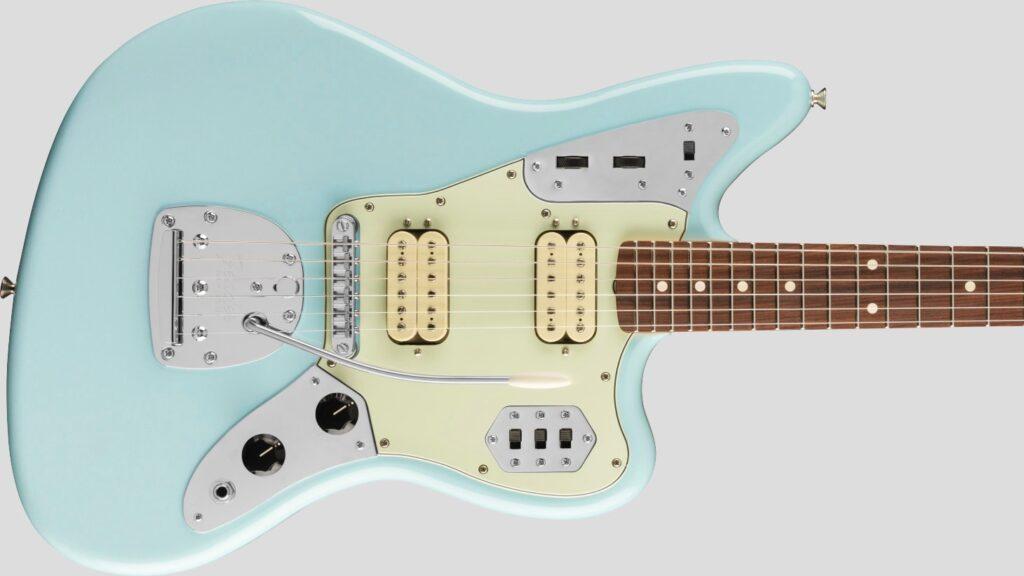 Fender 60 Jaguar Modified HH Vintera Sonic Blue 0149813372 Made in Mexico inclusa custodia Fender
