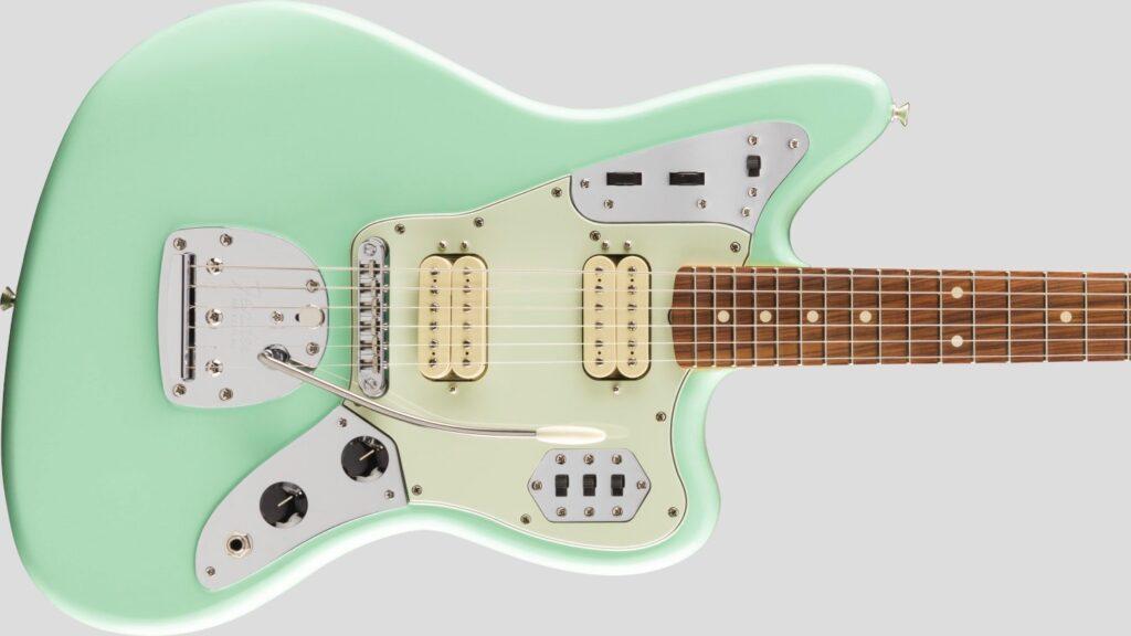 Fender 60 Jaguar Modified HH Vintera Surf Green 0149813357 Made in Mexico inclusa custodia Fender