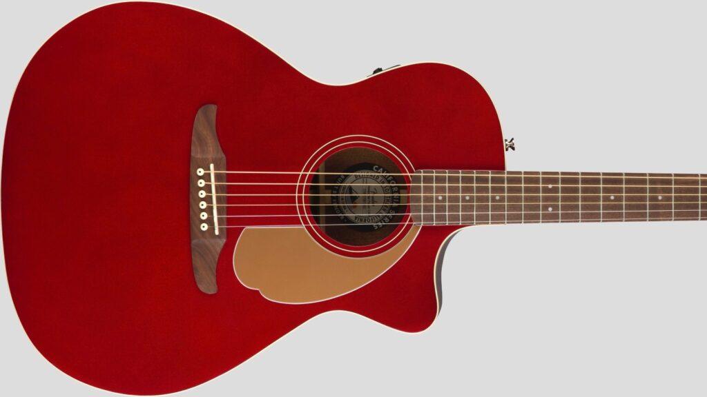 Fender Newporter Player California Candy Apple Red 0970743009 con custodia Fender in omaggio
