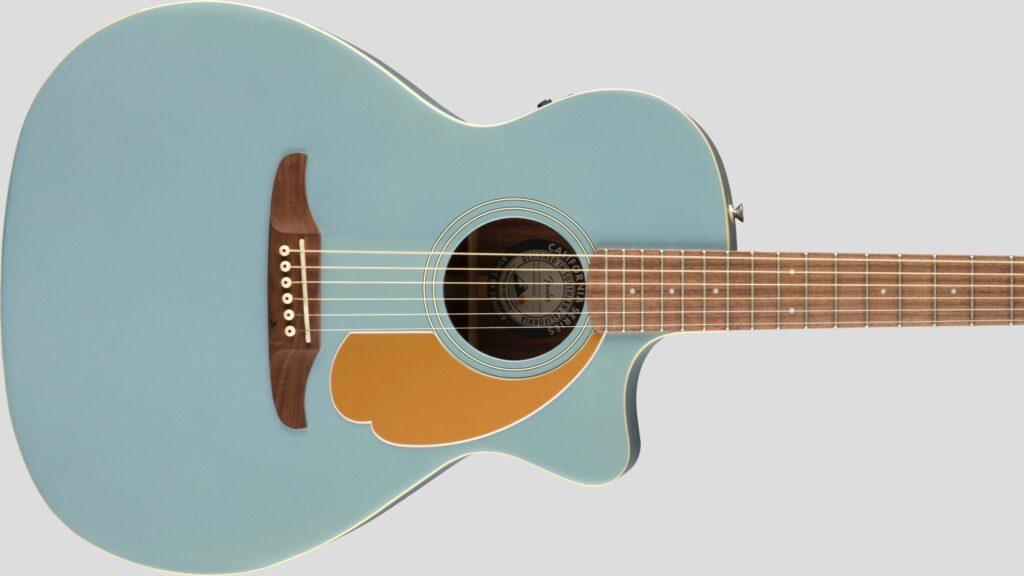 Fender Newporter Player California Ice Blue Satin 0970743062 con custodia Fender in omaggio