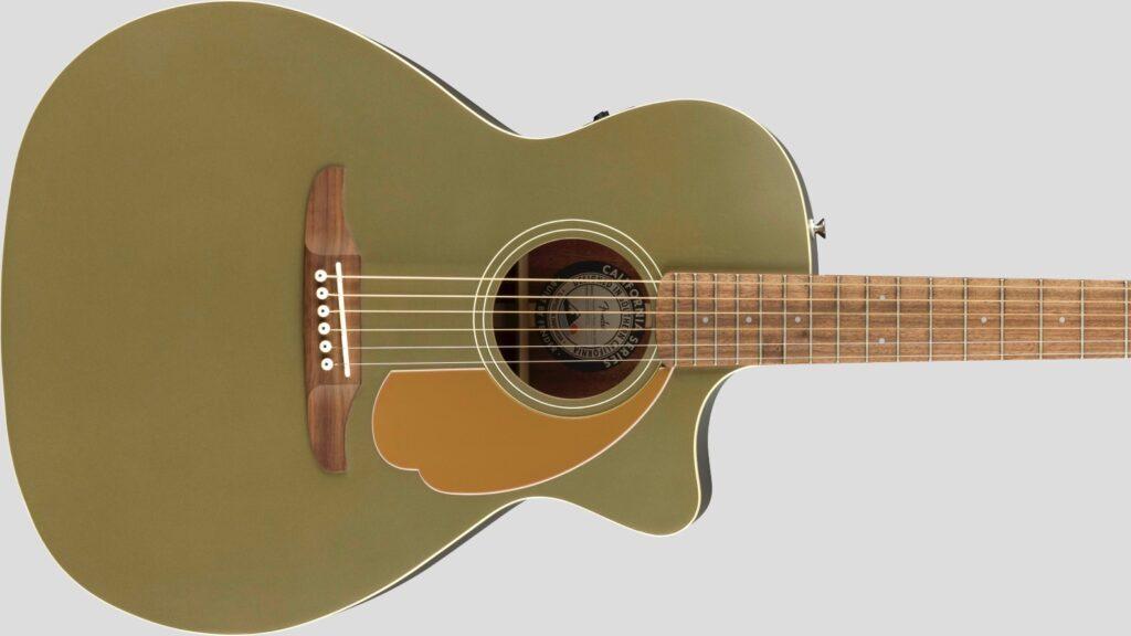 Fender Newporter Player California Olive Satin 0970743076 con custodia Fender in omaggio