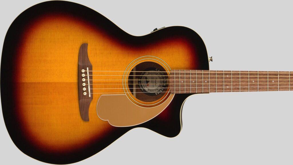 Fender Newporter Player California Sunburst 0970743003 con custodia Fender in omaggio