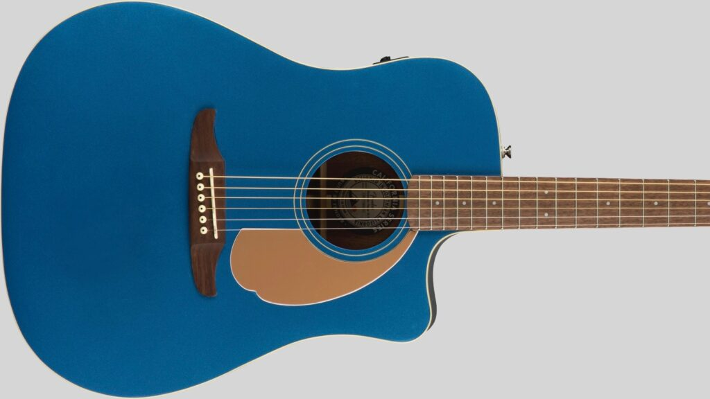 Fender Redondo Player California Belmont Blue 0970713010 con custodia Fender in omaggio