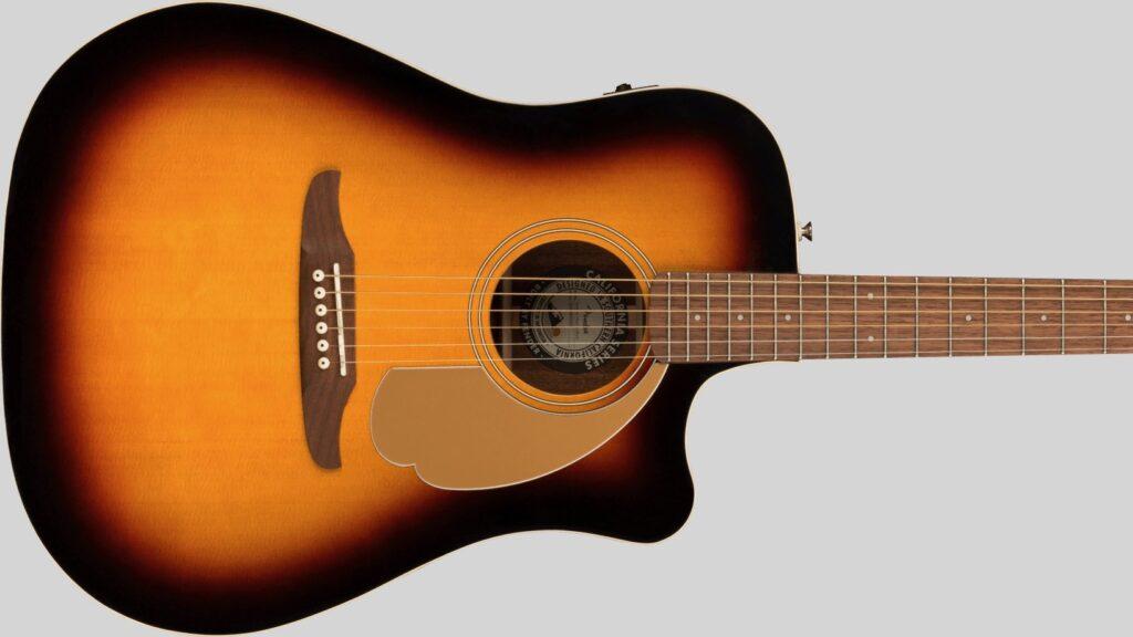 Fender Redondo Player California Sunburst 0970713003 con custodia Fender in omaggio