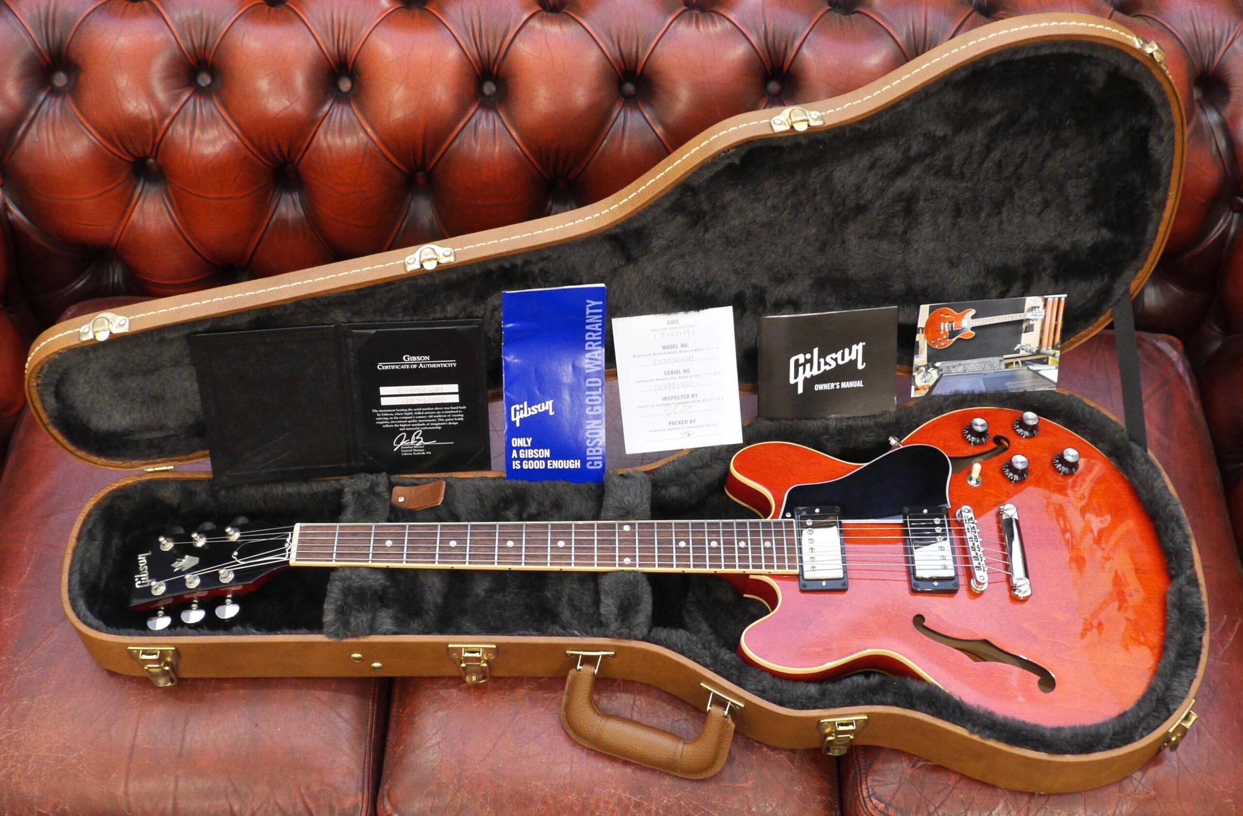 Gibson ES-339 Gloss 2019 Sixties Cherry 1