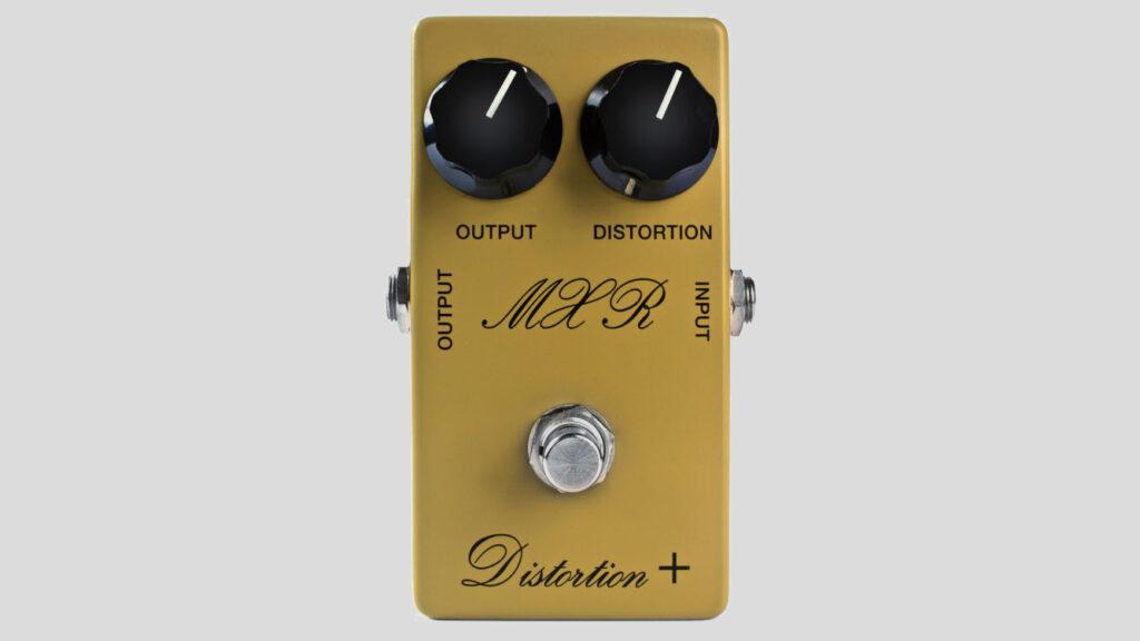 MXR Custom Shop 73 Vintage Distortion + CSP104 Made in Usa (spedizione gratuita) Jim Dunlop Electronics
