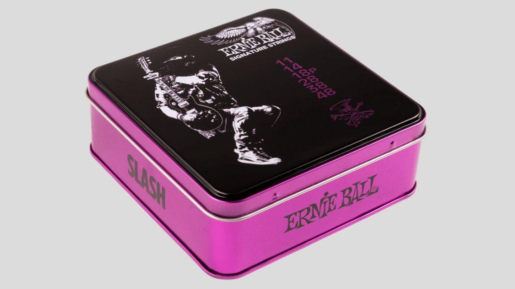 Ernie Ball Slash Signature String Set Tin Box con 3 mute di corde 11-48 (spedizione gratuita)
