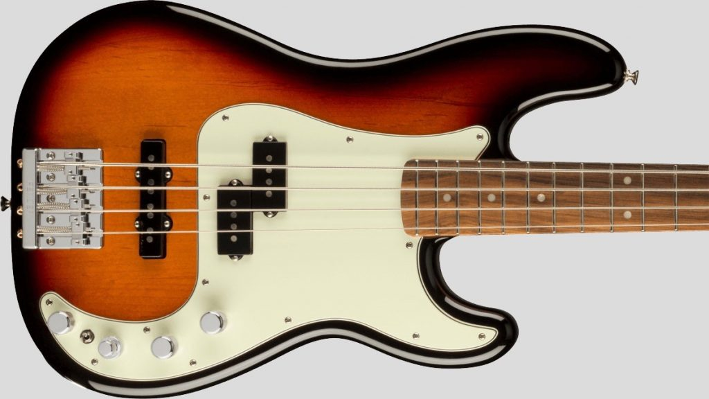 Fender Precision Bass Player Plus 3-Color Sunburst 0147363300 Made in Mexico inclusa custodia Fender