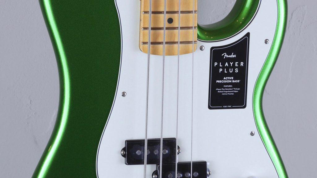 Fender Precision Bass Player Plus Cosmic Jade 0147362376 Made in Mexico inclusa custodia Fender